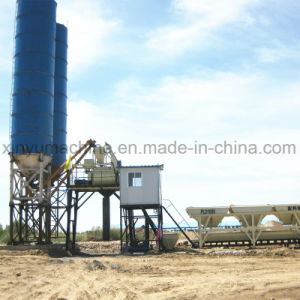Skip Hopper Type Small Concrete Batching Plant (HZS35) pictures & photos