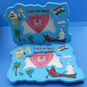 3D Soft PVC Photo Frame with Animal Logo Good Home Decoration Memorize Meaningful Moment (ASNY-photo frame-IX-005) pictures & photos