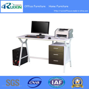 Hot Sale Modern Office Desk with Wood Hanging Pedestal (RX-D1033)