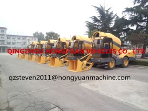 2017 Latest Type 4m3 Self-Loading Concrete Mixer pictures & photos