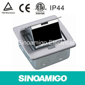 IP44 Waterproof Stainless Power Socket Floor Outlet Boxes pictures & photos