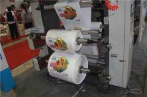 Timing Belt Flexo Printing Machine 4 Color pictures & photos