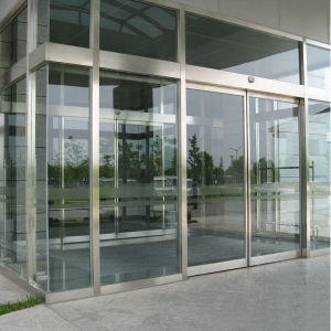 Exterior Stainless Steel Glass Commercial Entry Security Door pictures & photos