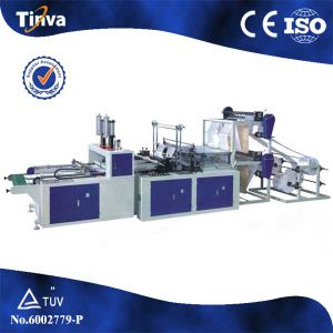 Full Auto Four Line T-Shirt Bag Making Machine pictures & photos