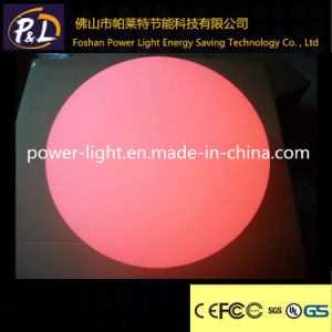 RGB Rechargeable Illuminated Plastic LED Pool Ball pictures & photos