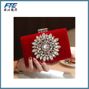 Lady Crystal Handbags Fashion Party Clutch Evening Bag pictures & photos