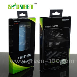 Paper Packaging Box with Window for Cell Phone (M-20)