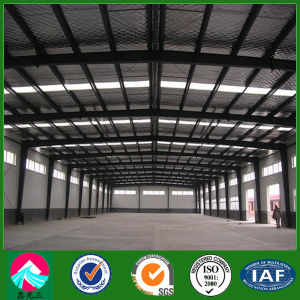 Long Span Customized Structural Steel Workshop Warehouse with Fiber Glass Roof Panel (XGZ-SSW020) pictures & photos