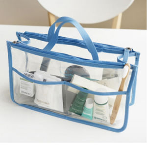 PVC Makeup Toiletry Gift Packing Organizer Travel Cosmetic Bag pictures & photos