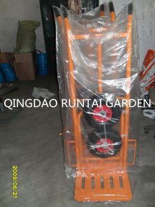 Foldable Moving Cheap Handtrolley (Ht1827) pictures & photos