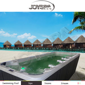 6 Meter Large Outdoor Hydro Swim SPA with CE Certificate Rectangular Swim SPA pictures & photos
