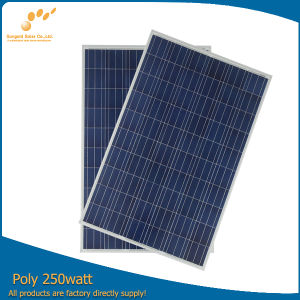 250 Watt 30 Volt Solar Panel Making + Waterproof Junction Box RV Versatile Boat pictures & photos