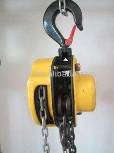 Popular Hand Pulling Chain Hoist Manual Block pictures & photos