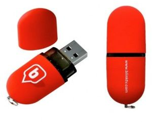 Plastic Lipstick Pen Drive 512GB 1GB USB Flash Drive pictures & photos