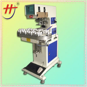 Automatic Single Color Conveyor Tampon Printer with Open Ink