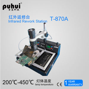 Puhui T870A Laptop Motherboard BGA Rework Station, Infrared Soldering Station pictures & photos