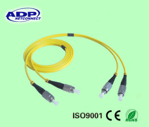 FC-FC Fiber Optic Patch Cord Duplex (FC-FC) pictures & photos