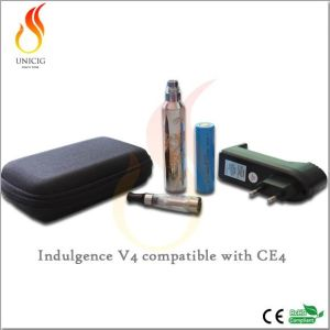 E -Cigarette Mod Improved Indulgence V4 in Stainless Steel