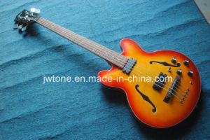 Hollow Body Double F Hole 5string Es 335 Bass Guitar pictures & photos