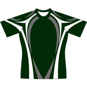 Custom Made Rugby Shirt Football T Shirt with Good Price pictures & photos
