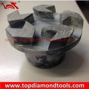 5 Arrow Teeth Diamond Grinding Plug pictures & photos