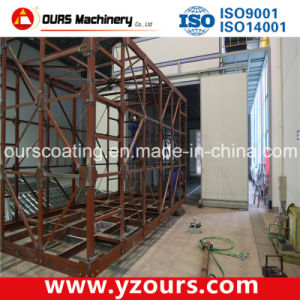 Automatic Paint Spray Booth for Metal Products pictures & photos