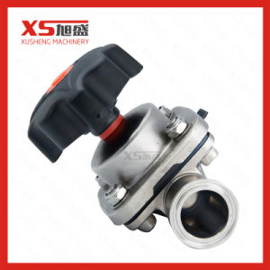Stainless Steel Straight Way Handle Diaphragm Valve for Pharmacy pictures & photos