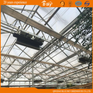 Great Economic Benefit Glass Multi-Span Greenhouse pictures & photos