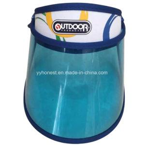 Custom Logo PVC Sun Visor High Quality Plastic Sun Visor pictures & photos