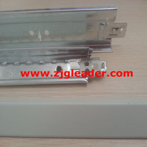 Ceiling Tee Grid with Alloy Lock End (Hot-DIP Galvanized Steel Ceiling T-Bar) pictures & photos