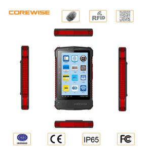 Quad Core Android 6.0 RFID Reader with Fingerprint Barcode Scanner pictures & photos