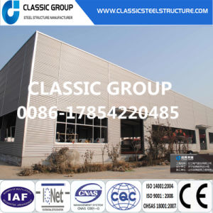 Heat Insulation Long Span Steel Frame Structural Warehouse pictures & photos
