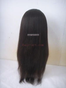 Chinese Virgin Hair/Full Lace Wig/100% Hand Tied Human Hair pictures & photos