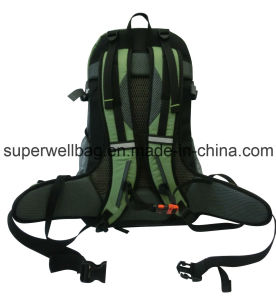 Mesh Travel Sports School Promotion Hiking Backpack Bag pictures & photos