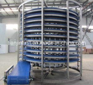 Bread / Cake / Candy Spiral Cooling Tower Conveyor pictures & photos