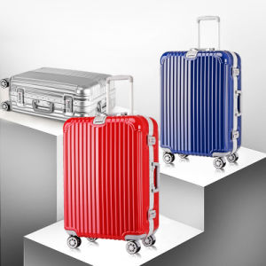 Classic Hard Luggage Trolley Suitcase pictures & photos