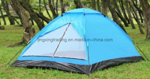 4 Persons Waterproof Polyester Single-Skin Camp Tent (JX-CT018) pictures & photos