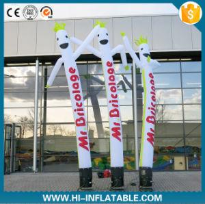 High Quality Custom Logo Advertising Dancing Man Inflatable Sky Tube Air Dancer