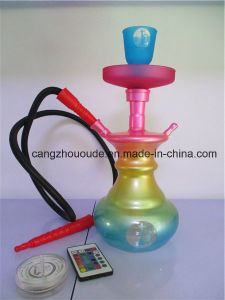 Colourful Glass Smoking Hookah Pipe pictures & photos
