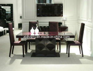 Modern High Glossy Painting Wood Dining Table (LS-201A) pictures & photos