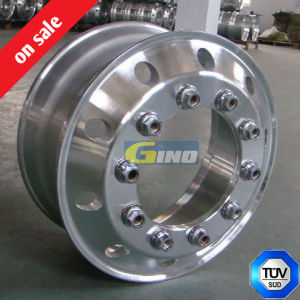 Aluminum Alloy Wheel for Truck Trailer Bus, Aluminum Truck Wheel, 22.5 Alloy Rim