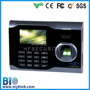 Top Sale Web Server Standard Finger & Code Office Staff Work Hour Tracking Device (HF-U160)