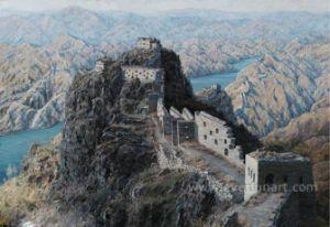 Hills Landscape Oil Painting pictures & photos