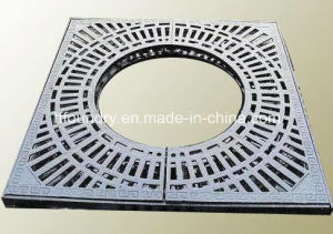 Different Sizes Square Frame Ductile Cast Iron Tree Gratings pictures & photos