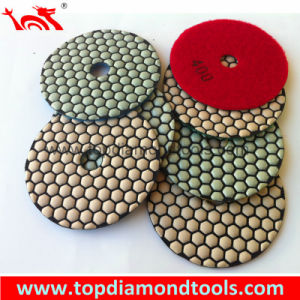 Dry Angle Grinder Polishing Pads Diamond Tools pictures & photos