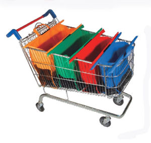 2017 Hot Sale Supermarket Non Woven Trolley Bags pictures & photos