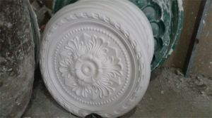 Lamp Panel for Gypsum Plaster Ceiling Center Panel Medallion Rose pictures & photos