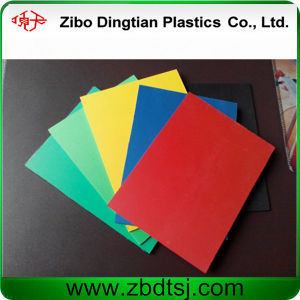 1mm 1.5mm Thickness PVC Foam Board for 3D Puzzle House pictures & photos