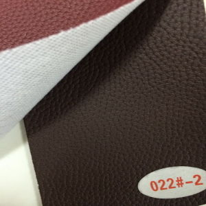 New Style Synthetic PU Leather for Sofa Upholstery (HS022#) pictures & photos