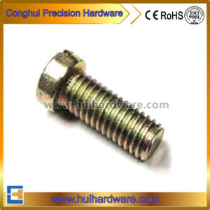 Color Zinc Plated Slotted Screw, Slotted Cheese Head Machine Screw pictures & photos